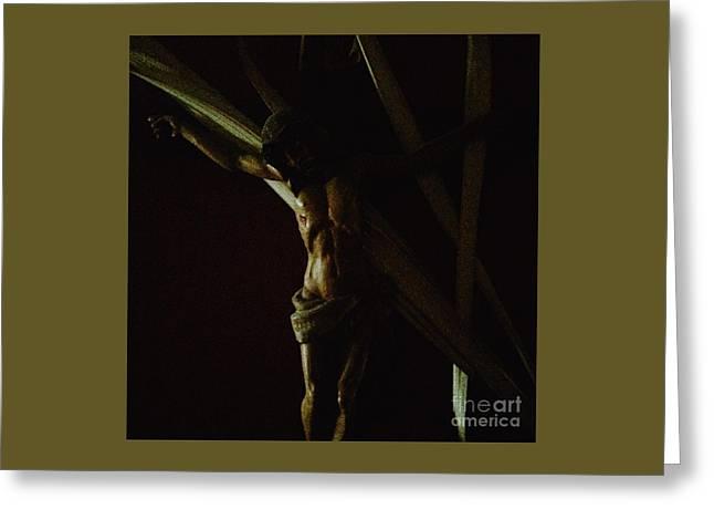 Measuring Up To Jesus Greeting Card