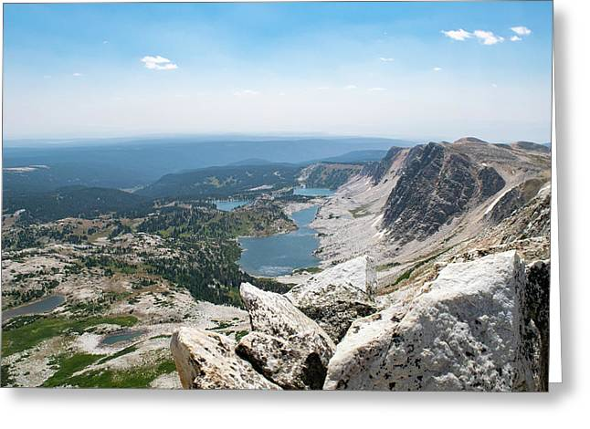 Medicine Bow Peak Greeting Card