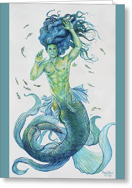 Merman Clyde Greeting Card