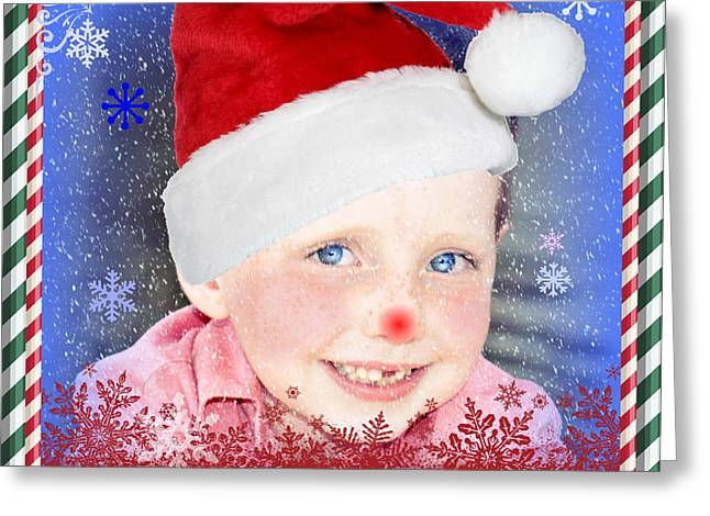 Merry Christmas Max Greeting Card