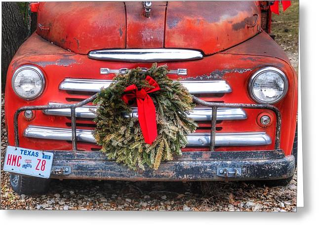 Merry Christmas Texas Greeting Card