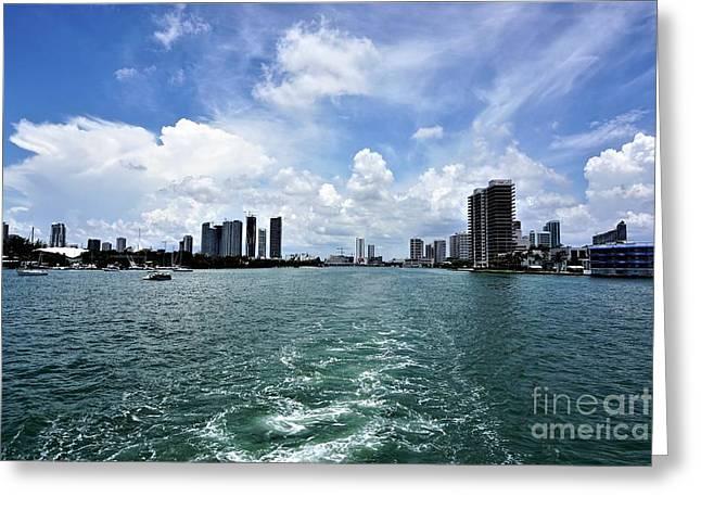 Miami2 Greeting Card