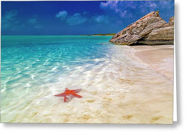 Middle Caicos Tranquility Awaits Greeting Card