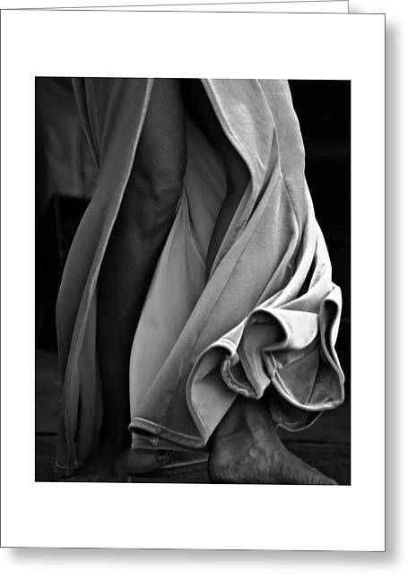 Greeting Card featuring the photograph Mideastern Dancing 2 by Catherine Sobredo