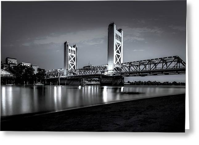 Greeting Card featuring the photograph Midnight Hour- by JD Mims