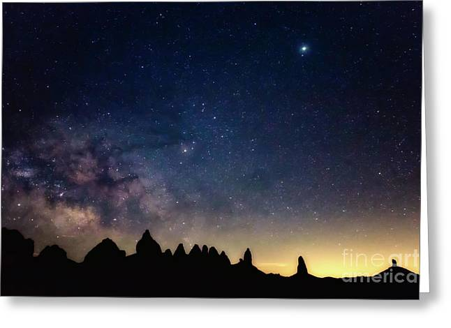 Milky Way Greeting Card