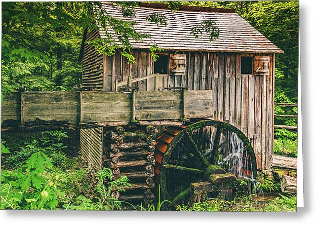 Mill At Cades Cove Greeting Card