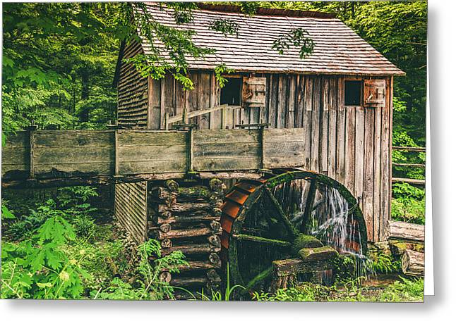 Mill At Cades Cove Greeting Card