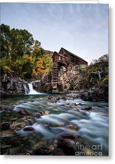 Greeting Card featuring the photograph Mill On Crystal River by Joe Sparks