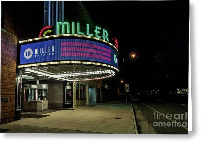 Miller Theater Augusta Ga 2 Greeting Card