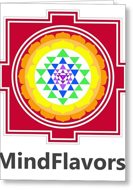 Mindflavors Original Medium Greeting Card