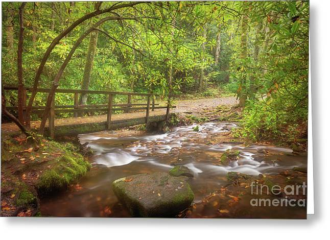 Greeting Card featuring the photograph Mingus Creek by Sharon Seaward
