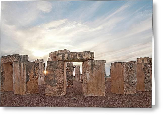 Mini Stonehenge Greeting Card