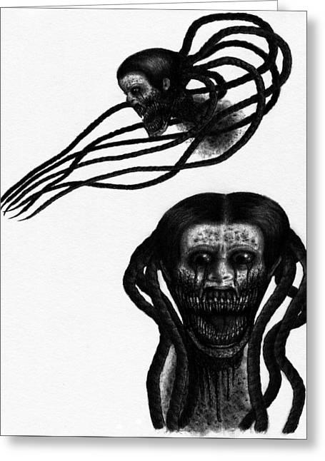 Minna - Artwork Greeting Card