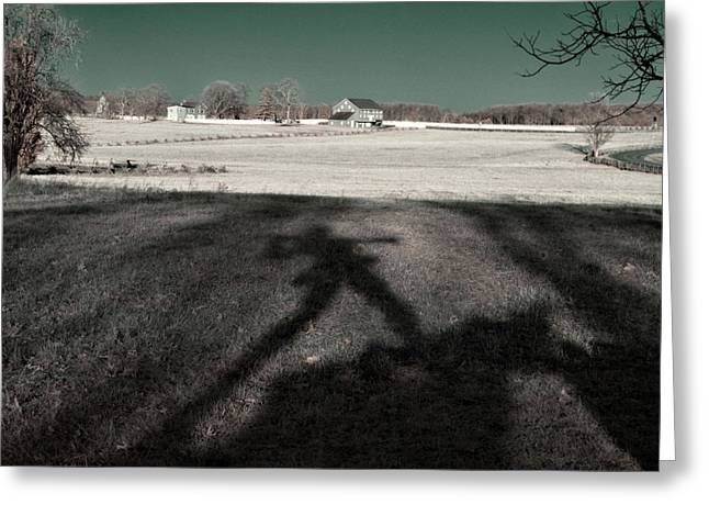 Mississippi Shadow Greeting Card