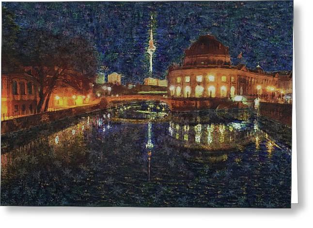 Mist Of Impressionism. Berlin. Greeting Card