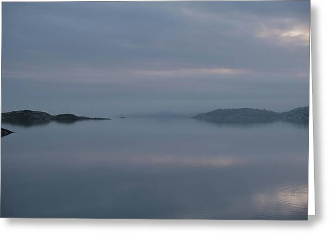 Misty Day Greeting Card