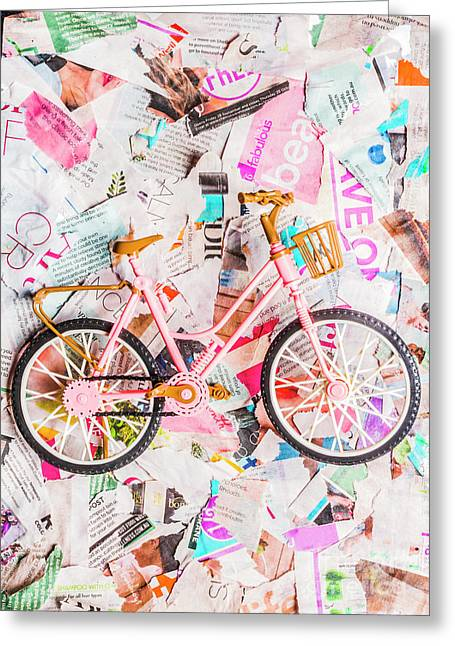 Mode Of Transport Greeting Card