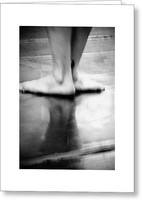 Greeting Card featuring the photograph Modern Dance 3 by Catherine Sobredo