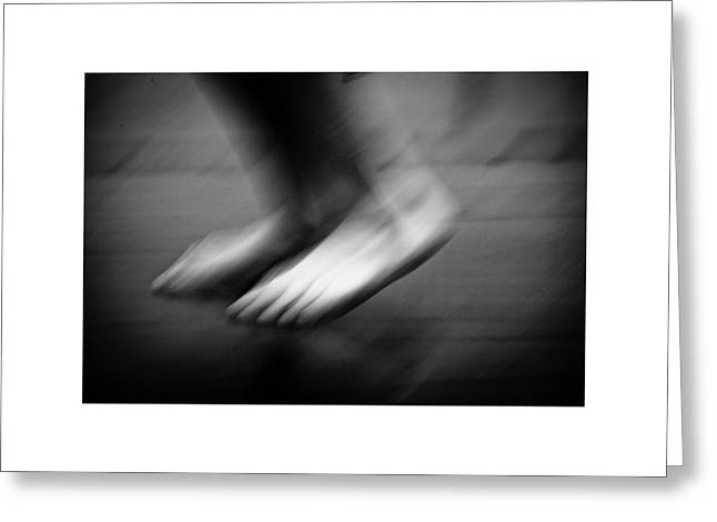 Greeting Card featuring the photograph Modern Dance 33 by Catherine Sobredo
