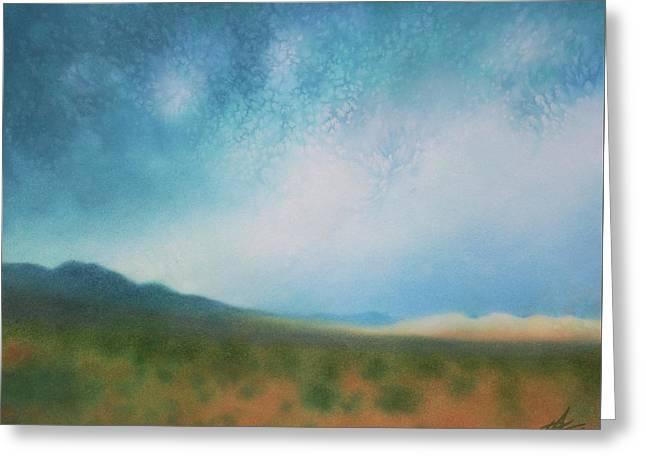 Mojave Wilderness Greeting Card by Robin Street-Morris