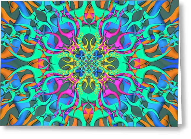 Montage Remix Greeting Card