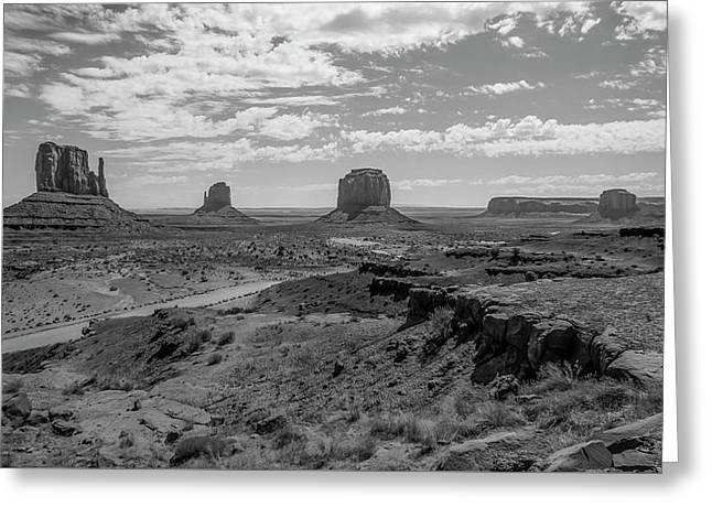 Monument Valley View Greeting Card