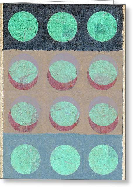Moon Phases 1 Greeting Card