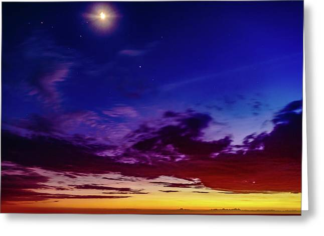 Moon Sky Greeting Card