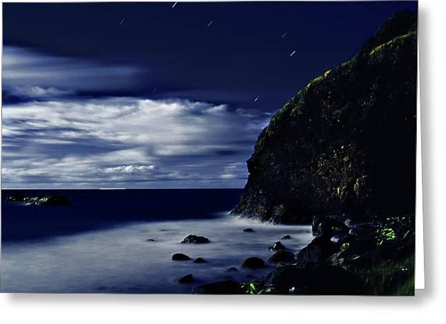 Moonlight At Argyle Greeting Card