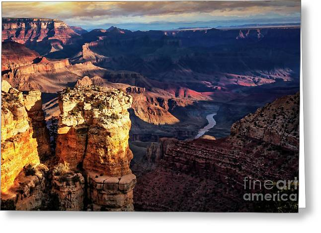 Greeting Card featuring the photograph Moran Point 3 by Scott Kemper