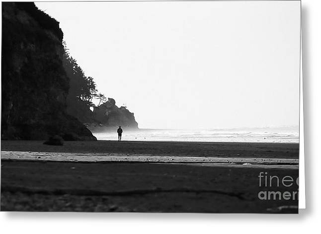 Greeting Card featuring the photograph Morning Walk by Jeni Gray