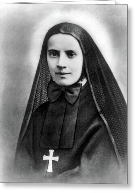 Mother Cabrini, Italian- American Greeting Card