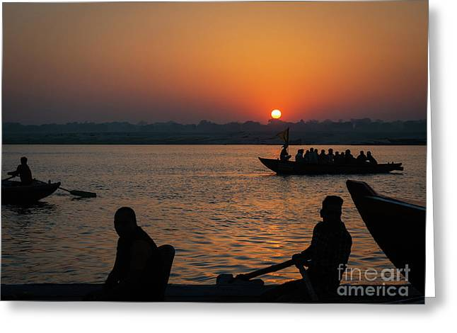 Mother Ganges Greeting Card