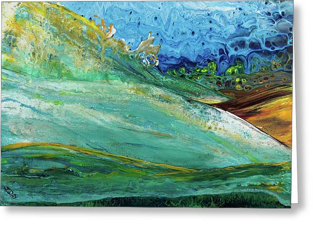 Mother Nature - Landscape View Greeting Card