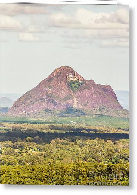 Mount Beerwah Greeting Card