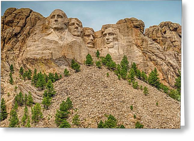 Mount Rushmore Greeting Card