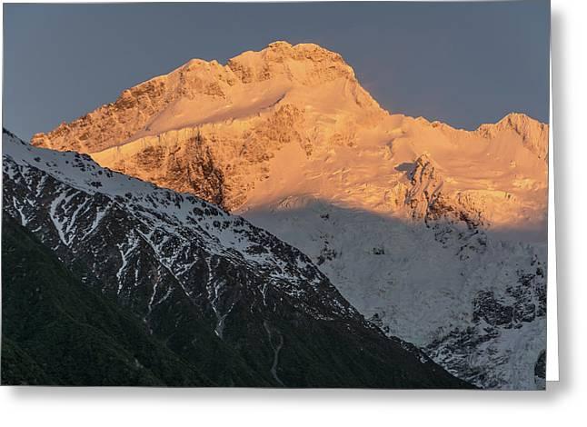 Mount Sefton Sunrise Greeting Card