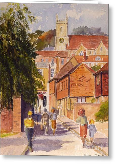 Mount Street, Hythe, Kent Greeting Card