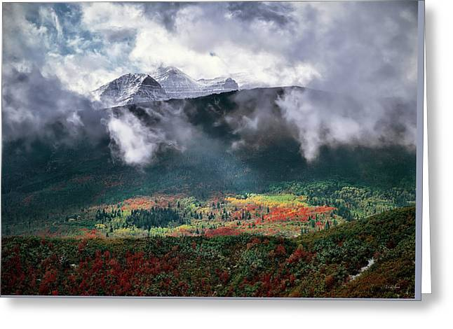 Mountain Autumn Greeting Card