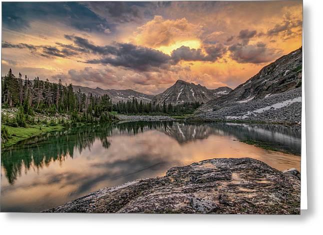 Mountain Beauty Greeting Card by Leland D Howard