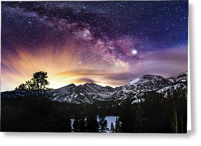 Mountain Dreams Greeting Card