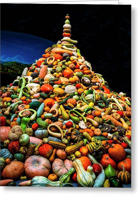 Mountain Of Gourds Greeting Card