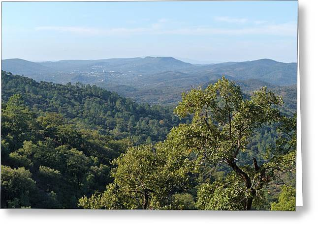 Mountains Of Loule. Serra Do Caldeirao Greeting Card
