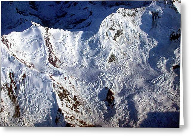 Mountaintop Snow Greeting Card