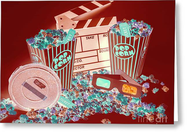 Movie Makers Inc. Greeting Card