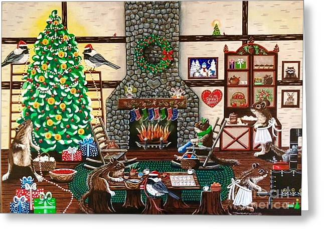 Ms. Elizabeth's Holiday Home Greeting Card