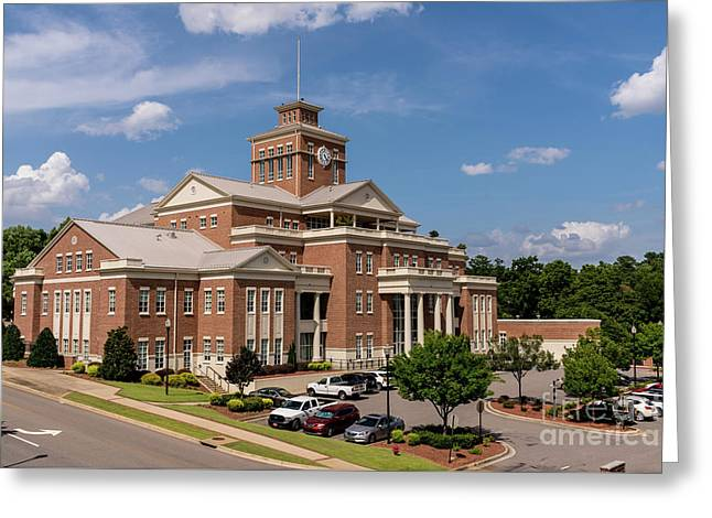 Municipal Building - North Augusta Sc Greeting Card