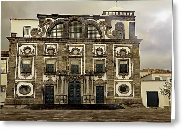 Greeting Card featuring the photograph Museu Carlos Machado by Tony Murtagh