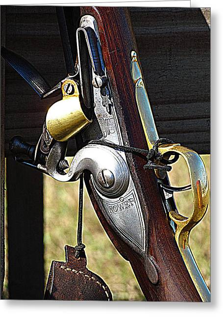 Musket Greeting Card